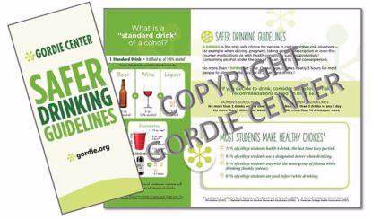 Safer Drinking Guidelines Brochure