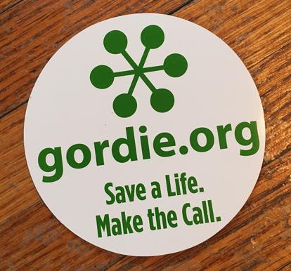 Gordie.org Car Magnet